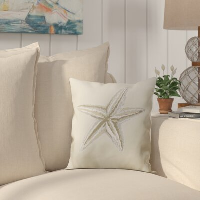 Stonington Down Throw Pillow Size: 16 H x 16 W, Color: Taupe