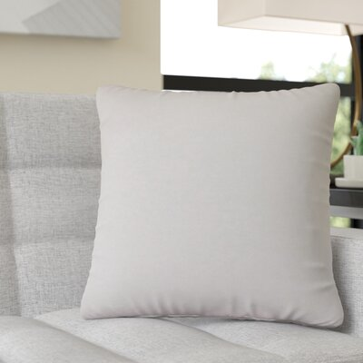 Moreell Throw Pillow Color: Silver