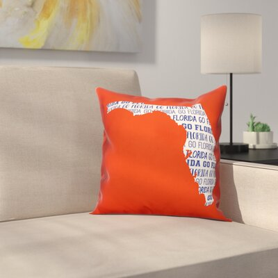 Florida Go Team Throw Pillow