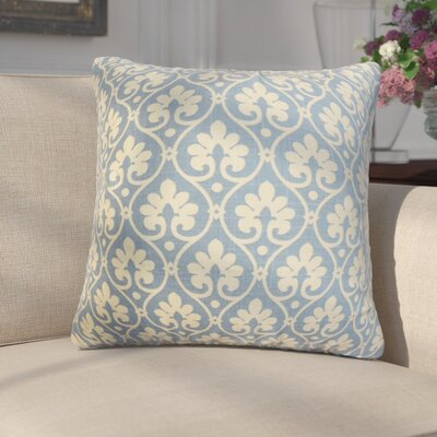 Florenza Floral Linen Throw Pillow