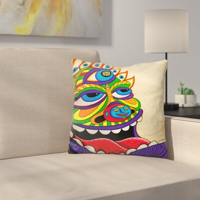 One God Throw Pillow