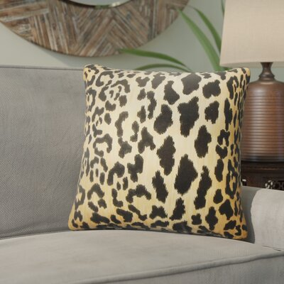 Baldemar Animal Print Cotton Throw Pillow