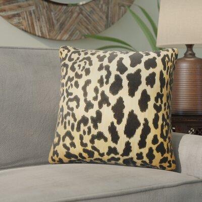Baldemar Animal Print Cotton Throw Pillow