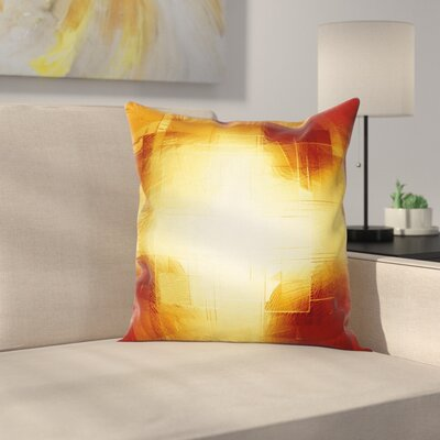 Abstract Modern Square Pillow Cover Size: 16 x 16