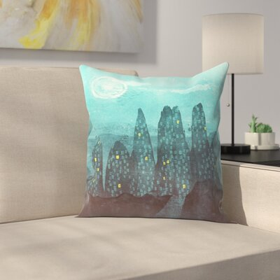 To the City Throw Pillow Size: 18 x 18
