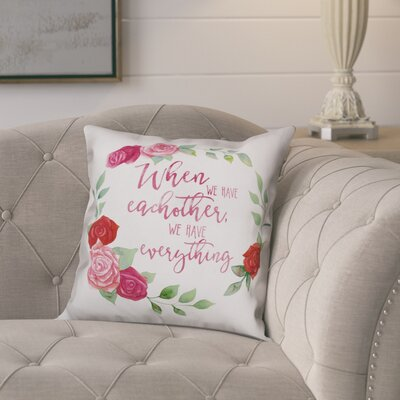 Dino We Have Everything Throw Pillow