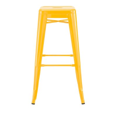 Despres Steel Stackable 30 Bar Stool Color: Yellow