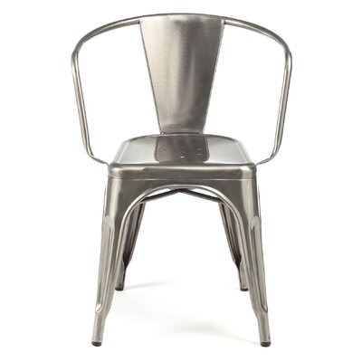 Despres Stackable Dining Chair Color: Gunmetal