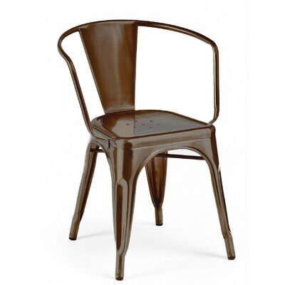 Despres Stackable Dining Chair Color: Rustic Matte