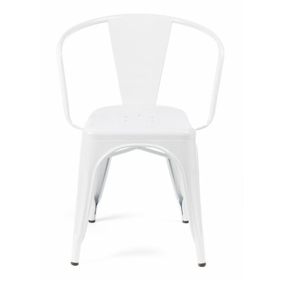 Despres Stackable Dining Chair Color: Glossy White