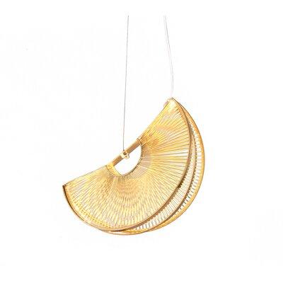 Piscitelli Iron Fan LED Geometric Pendant