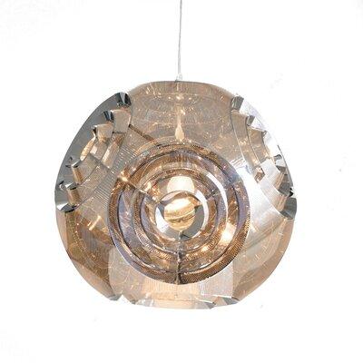 Gotcher 1-Light Stainless Steel ORB Single Mini Pendant