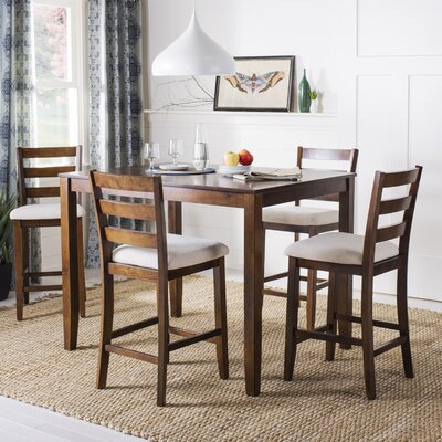 Hervey Bay 5 Piece Pub Table Set