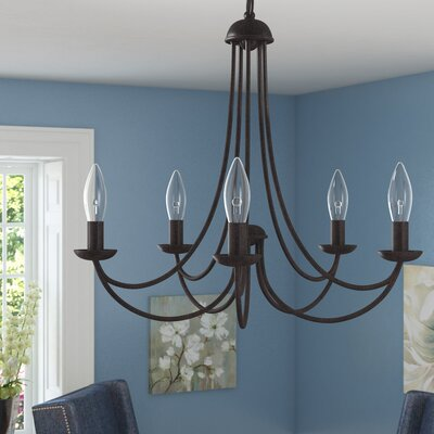 Buckland Candle-Style Chandelier Size: 5 Light