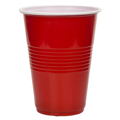 Rojo 16 oz. Party Plastic/Acrylic Pint Glass 3042