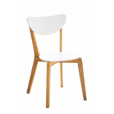 Besucherstuhl Shirl   Büro > Bürostühle und Sessel  > Besucherstühle   Brownwhiteespresso   Massivholz - Holz   Norden Home