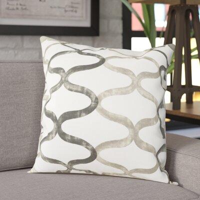 Balfour 100% Cotton Pillow Cover Color: Silver Gray