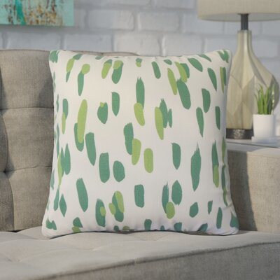 Northcutt Graphic Cotton Throw Pillow Color: Graan