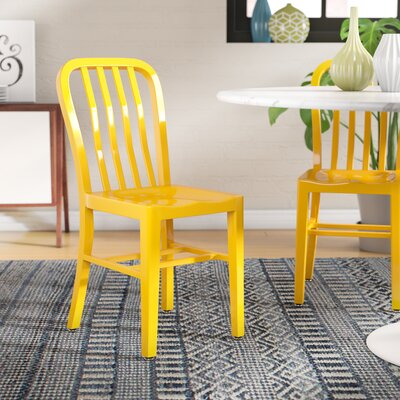 Brenneman Side Chair Finish: Yellow