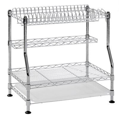 3-Tier Wire Dish Rack WDR181217