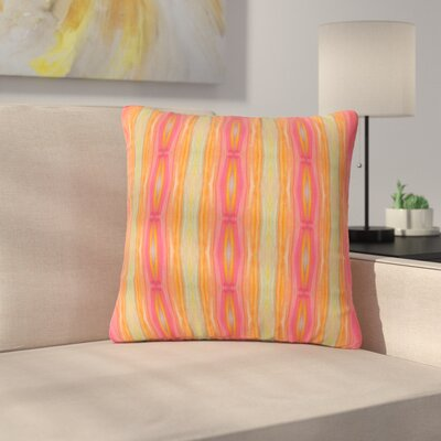 Nika Martinez Summer Tie Dye Outdoor Throw Pillow Size: 18 H x 18 W x 5 D