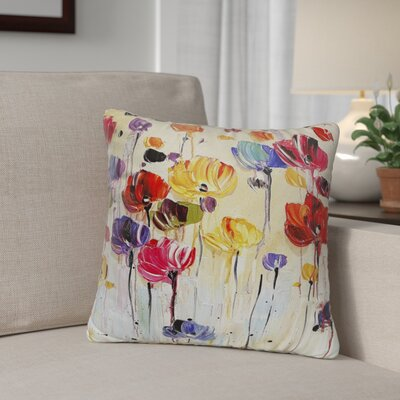Isaiah Indoor/Outdoor Throw Pillow Size: 18 H x 18 W x 8 D