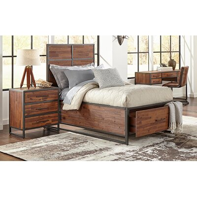 Dierks Panel Headboard Size: Twin