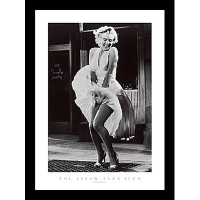 'The Seven Year Itch Detail' Framed Photographic Print 9E0019FF4A874941B6F0BB77BAB17972