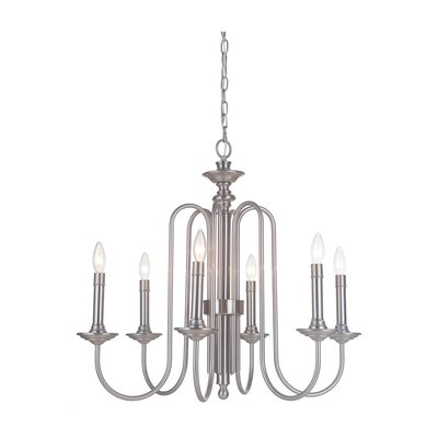 Ellingson 6-Light Candle-Style Chandelier