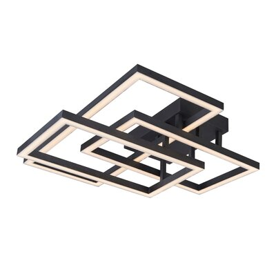 Cuthbertson 3-Light LED Integrated Flush Mount