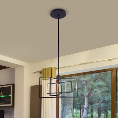 Cuthbertson 4-Light LED Integrated Geometric Pendant