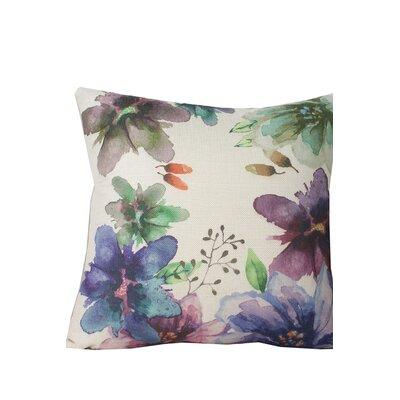 Edmore Flower Throw Pillow