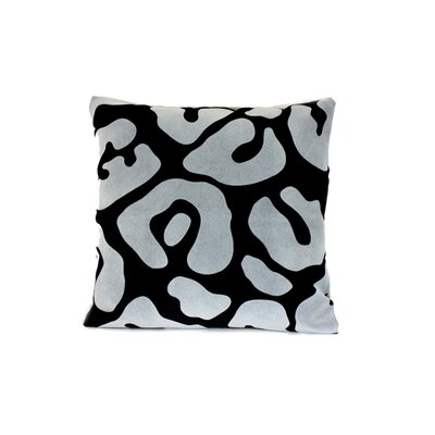 Moritz Throw Pillow Color: Black