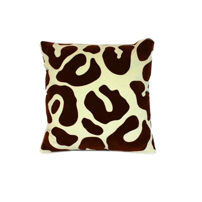 Moritz Throw Pillow Color: Brown