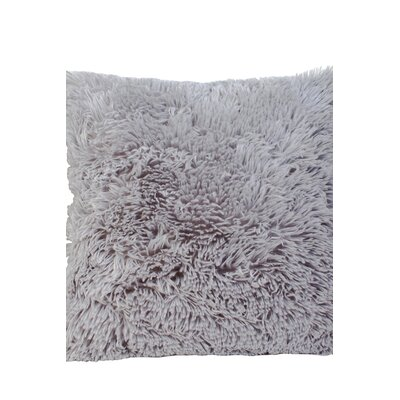 Premium Plush Throw Pillow Color: Gray, Size: 20 x 20