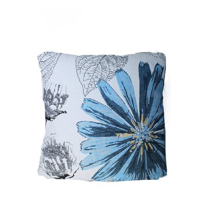 Edicott Throw Pillow Color: Blue
