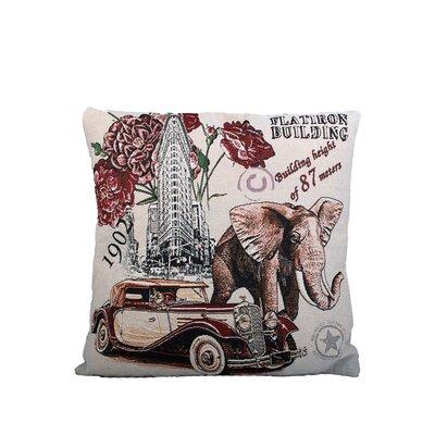 Flatiron Building Print Throw Pillow