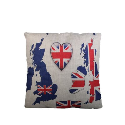Edinburgh Print Throw Pillow