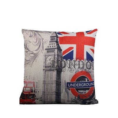 Edinburgh Style Print Throw Pillow