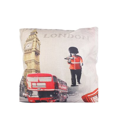 Edinburgh London Scenery Throw Pillow