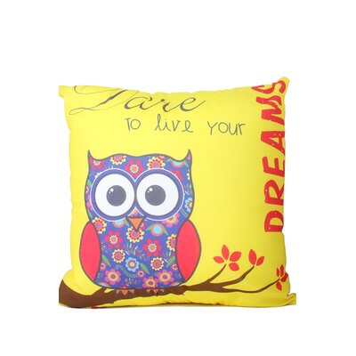 Hinkson Owl Print Throw Pillow