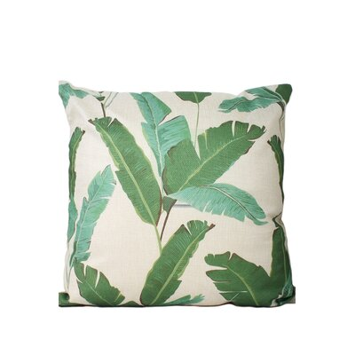 Fielding Leaf Print Throw Pillow