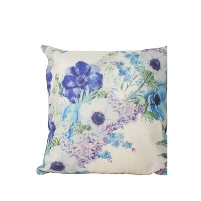 Edmore Flower Throw Pillow