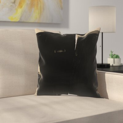 Kasi Minami Abstract Throw Pillow Size: 14 x 14