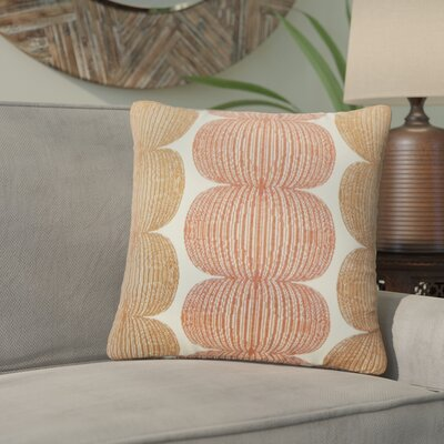 Guss Graphic Throw Pillow Color: Marmalade