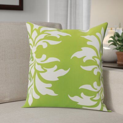 Eudora Double Outdoor Throw Pillow Color: Apple Green