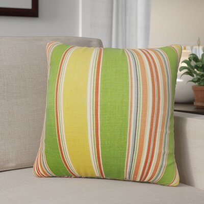 Ashprington Stripes Throw Pillow Cover Size: 18 x 18, Color: Multi