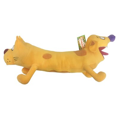 Nick 90s Nickelodeon Splat Cat Dog Plush Pillow Buddy