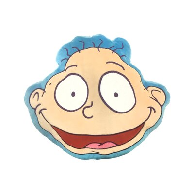 Nick 90s Nickelodeon Splat Rugrats Tommy Pickles Plush Face Throw Pillow