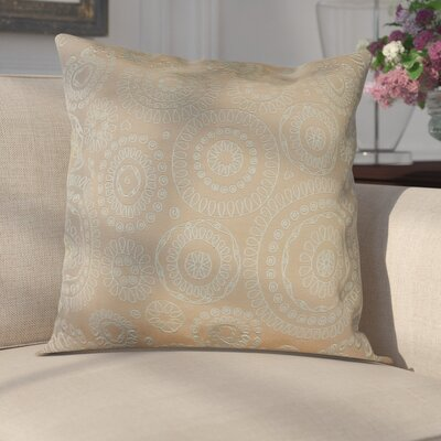 Sander Bohemian Woven Decorative Pillow Cover Color: Tangerine